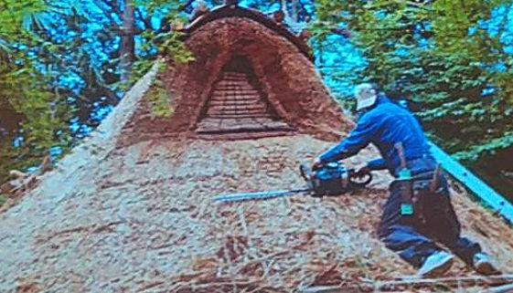 代々木八幡復元住居修繕工事完成式典